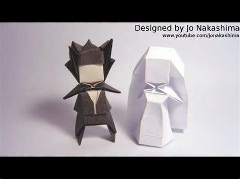 And Groom Origami - origami groom jo nakashima