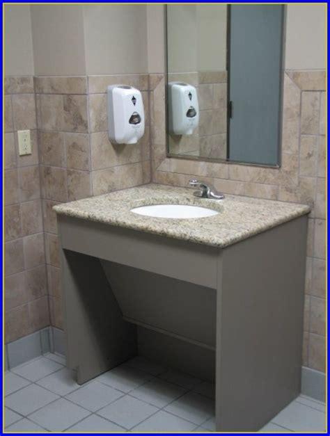 ada bathroom sink height ada bathroom sink height bathroom home design ideas