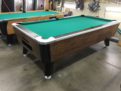 table 090116 used coin operated bar pool tables