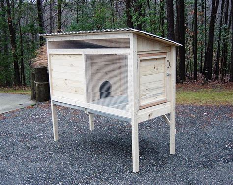 rabbit hutch pattern how to build a 5 ft rabbit hutch diy wood plans
