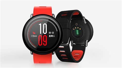 Xiaomi Amazfit Internasional Upversion Smartwatch With Rate Gps xiaomi amazfit smartwatch with rate sensor launched technology news