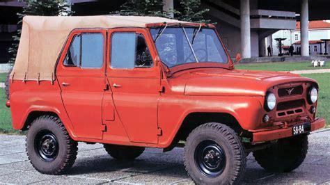 soviet cars  weird uaz
