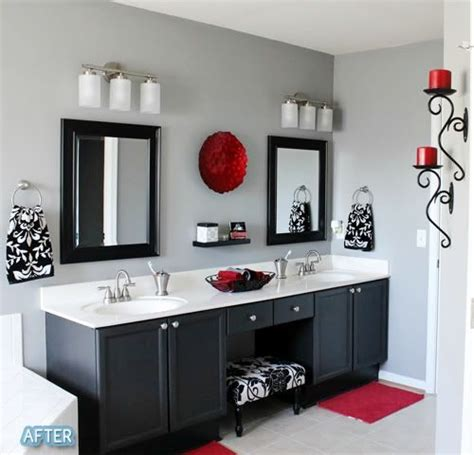 This is the theme of my master bath black white and pop of http best bedroom designs