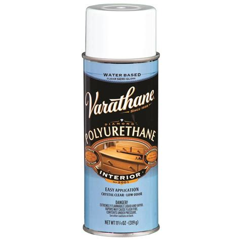 spray paint polyurethane shop rust oleum varathane clear fade resistant varnish