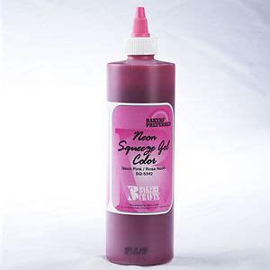 pink food coloring neon pink 13 5 oz squeeze gel food coloring by bakers