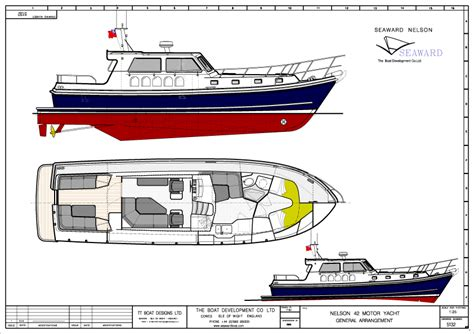 the boat development co ltd r d for 2 new nelson motor yacht models seaward boats