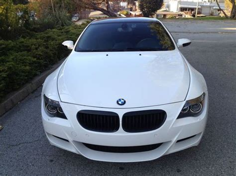 purchase used 2007 bmw m6 manual transmission all options 36k trouble free carbon fiber wow