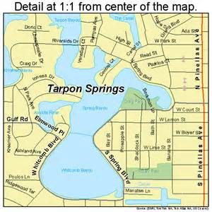 where is tarpon springs florida map tarpon springs florida map 1271150