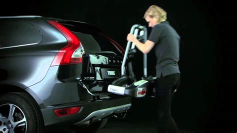 volvo xc60 bike rack thule volvo xc60 bma detachable towbar youtube