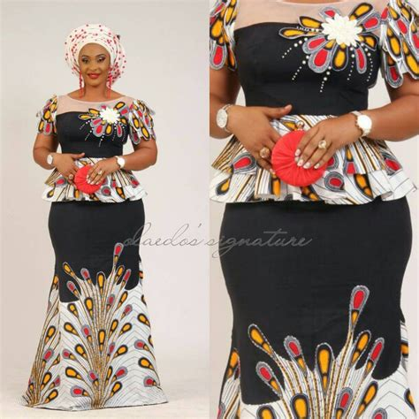 ankara peplum tops styles peplum ankara skirt and blouse styles dezango fashion zone