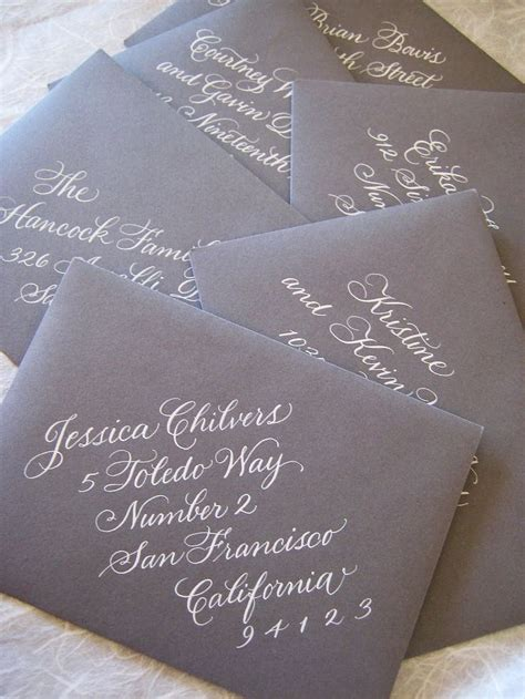 should wedding invitations envelopes be handwritten 1000 ideas about handwritten wedding invitations on