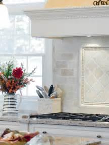 Marble Backsplash Kitchen tumbled marble backsplash houzz