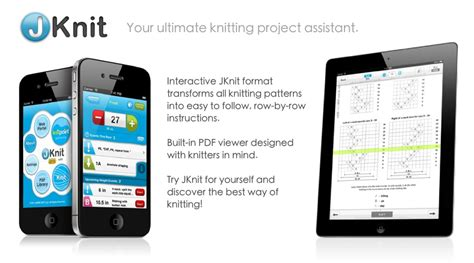 knitting app jknit knitting project assistant by jakro soft