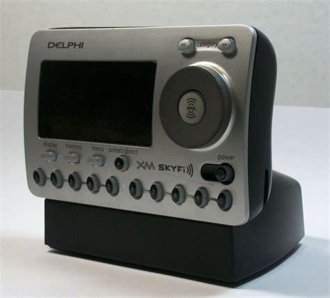 delphi xm skyfi sa50000 satellite radio receiver untested for parts or repair ebay