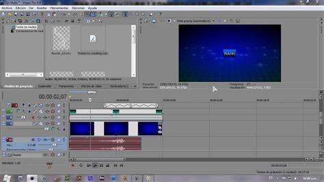 tutorial de sony vegas pro 9 0 en español tutorial creacion de intro avanzada sony vegas pro 9