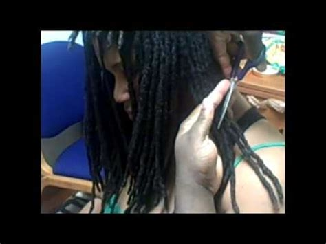 can you get a haircut where you can wear it as a bob and flipped natural hair how to cut dreads youtube