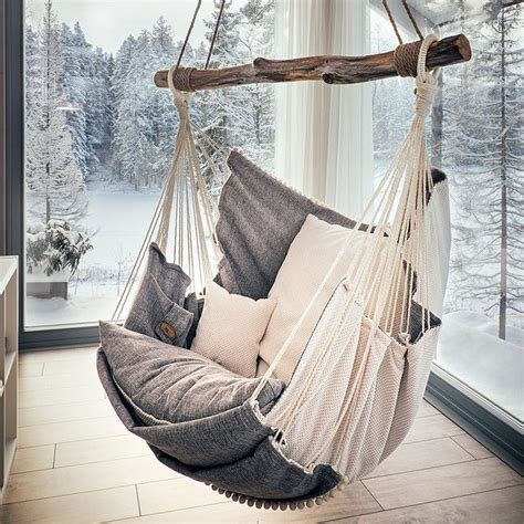 best 25 indoor hanging chairs ideas on pinterest small hammock chair best home design 2018