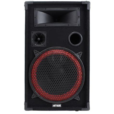 Speaker Laptop Mega Bass Mega Cone Bass 12 Quot 2 Way Speakers Home Karaoke Dj Disco Pa 1000w