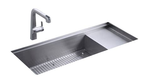 kohler stages kitchen sink kohler k 3761 na stages 45 inch stainless