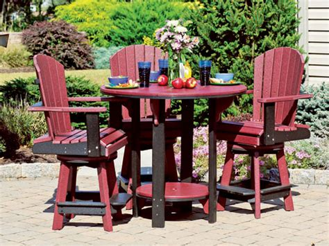 poly patio furniture poly outdoor furniture this n that amish outlet