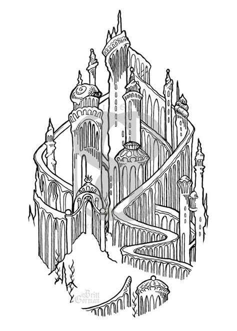 Etsy Little Mermaid Palace Print in 5x7 || $10 | The