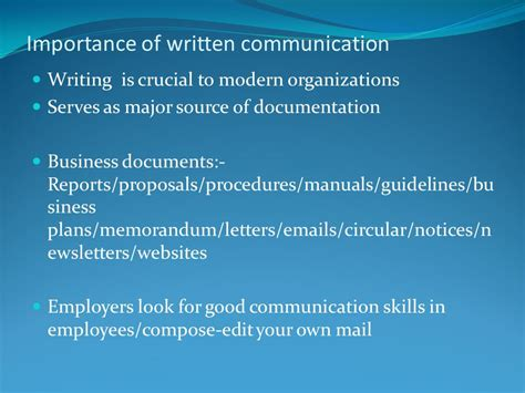 Importance Of Business Letter Writing definition meaning and importance of business