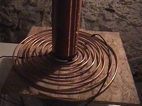 Tesla Primary Coil 3 Inch Tesla Coil Page