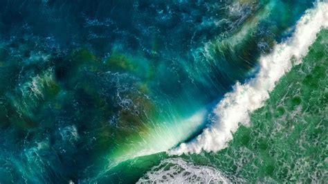 wallpaper apple wave sea welle meer sch 246 ne natur hintergrundbilder