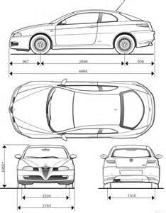 Alfa Romeo Giulietta Dimensions The Blueprints Blueprints Gt Cars Gt Alfa Romeo Gt Alfa