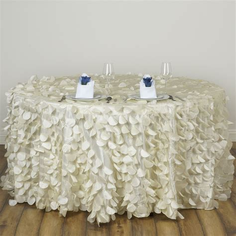 Wedding Tablecloths by 12 Pcs Petal 120 Quot Taffeta Tablecloths Wholesale Lot