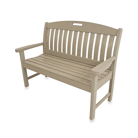 bed bath and beyond bench polywood 174 nautical bench bed bath beyond