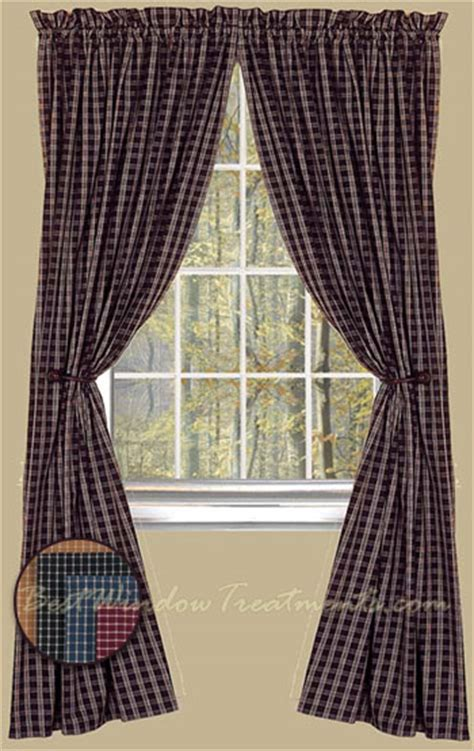 williamsburg curtains williamsburg plaid curtain panels available in colonial blue