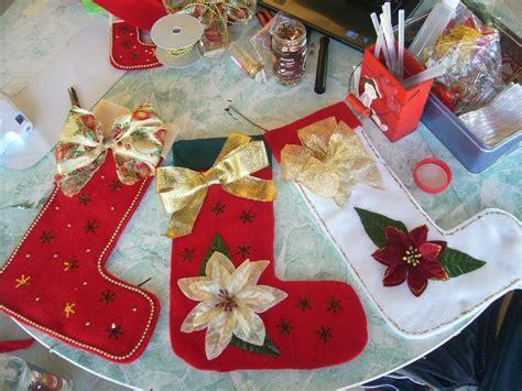 botas de papel para navidad bota navide 241 a fieltro manualidades navide 241 as