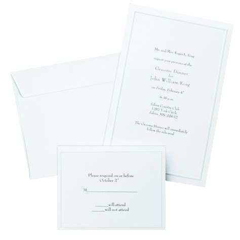Gartner Wedding Invitations