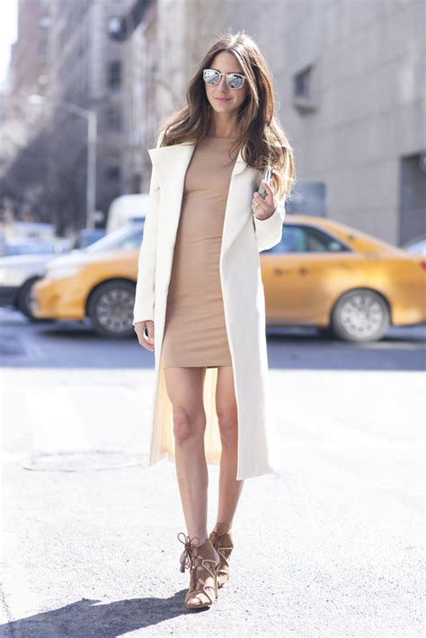 Is Wearing A by Neutral And Ideas Camel Beige And