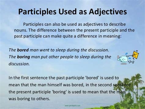 past participle tabelle participle