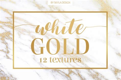 white and gold l white gold marble texture background by design bundles