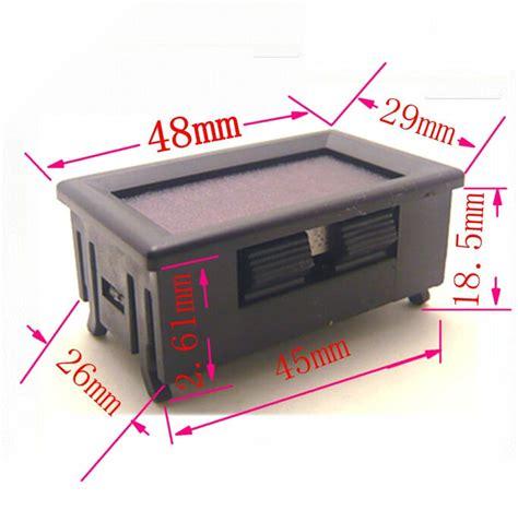 1 Quot Bspp 110v Ac מוצר Ac 30v 500v Voltage Digital Voltmeter Meter Two