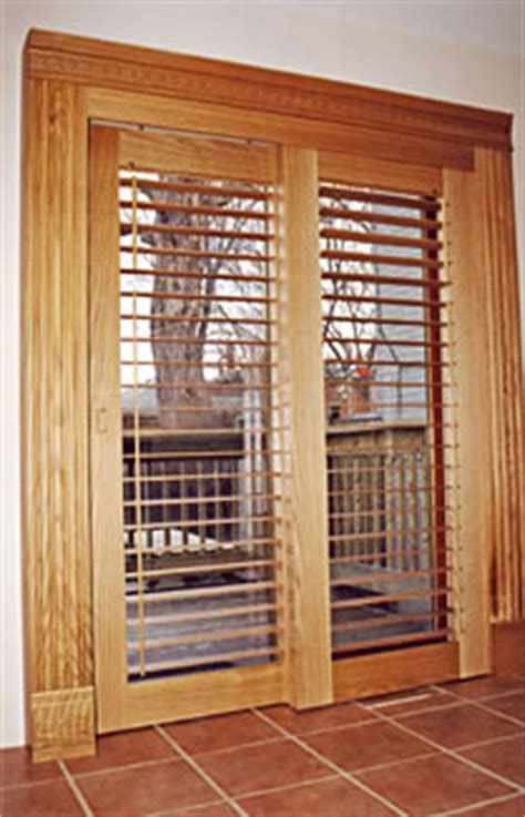 Wooden Shutters For Patio Doors by Sliding Patio Doors And Shutters Doors By Shutters Canada