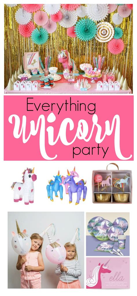 party tips party ideas for the perfect unicorn party