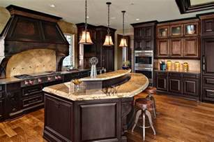 Mixed Kitchen Cabinets Mixed Wood Custom Cabinets Traditional Kitchen Minneapolis By Ehlen Creative