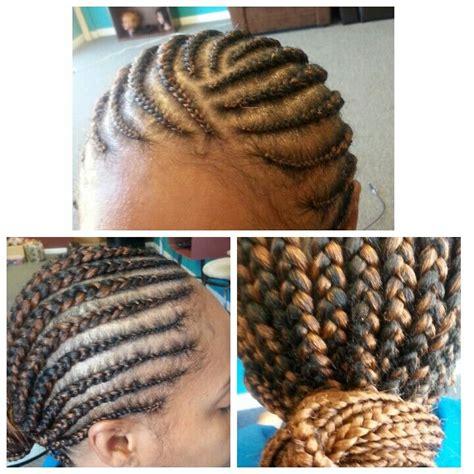 large cornrows updo hairstyles big cornrows cornrows updo pinterest