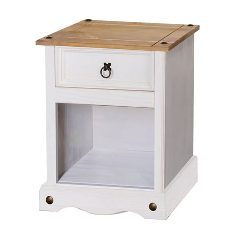 white washed pine cabinets products corona white washed wax effect pine bedside