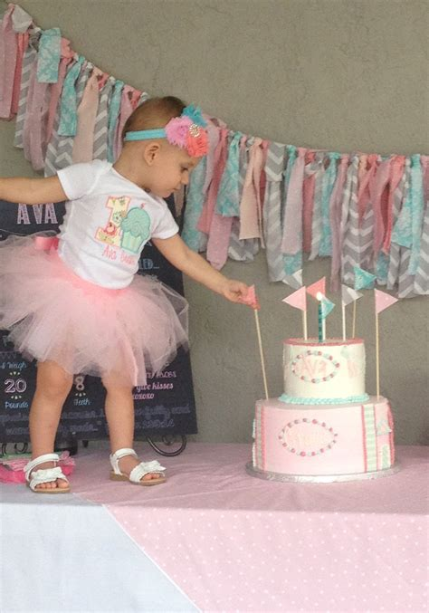 shabby chic 1st birthday for her colorado party rentals