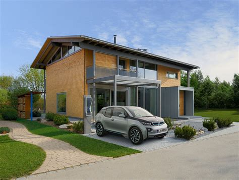2 Floor House by Smart House By Baufritz First Certified Self Sufficient