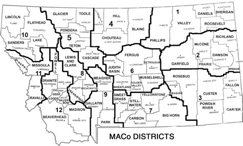 montana county map maco districts maco