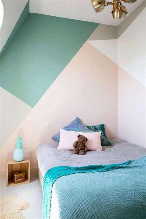 lade parete bambini arredare la da letto con i colori pastello