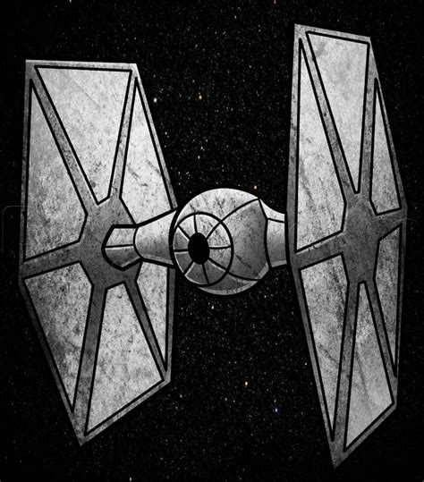 how to draw a tie fighter easy step by step wars