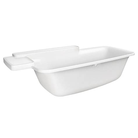 hansgrohe bathtub hansgrohe axor bouroullec built in bath tub 19955000