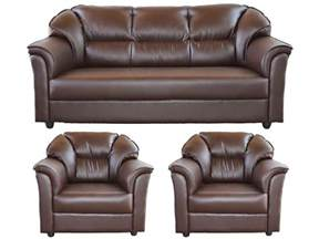 westido manhattan brown 3 1 1 seater sofa set buy
